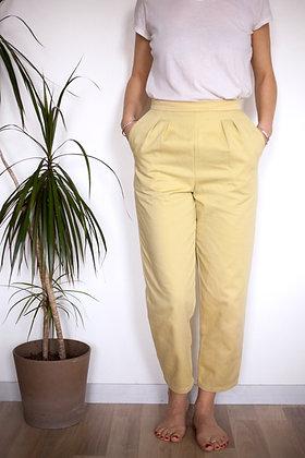 Pantalon sublime jaune