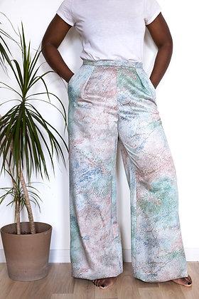 Pantalon Somptueux galaxie