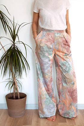 Pantalon Somptueux fleurs