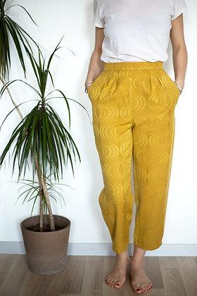 Pantalon Sublime moutarde