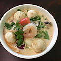 #13 Coconut Milk Soup* (Tom Kha)