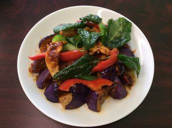 #44 Stir Fried Eggplant