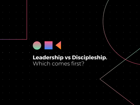 Leadership vs Discipleship