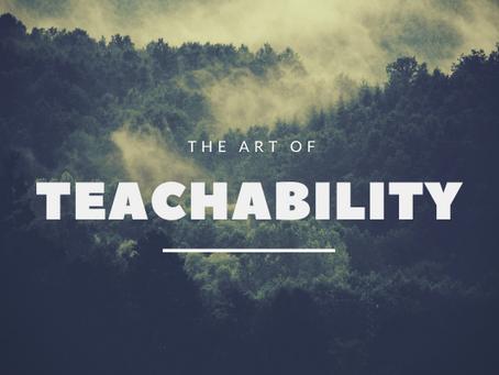 Be a Teachable Leader