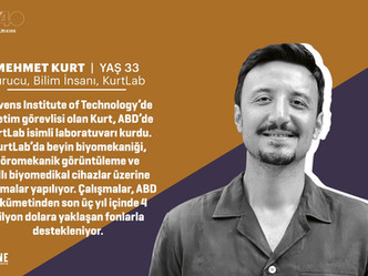 "Dr. Kurt Named in Fortune Turkey's ""40 Under 40"" 2020"