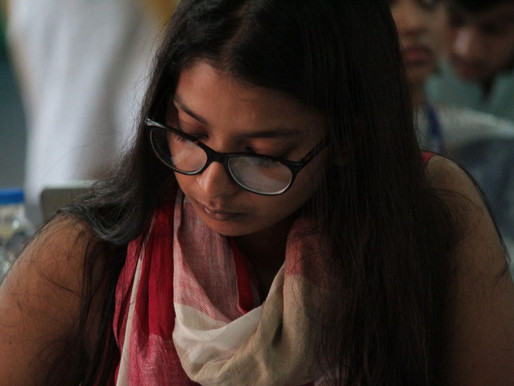 Essay of Antara, the first winner of the Essay Competition 20