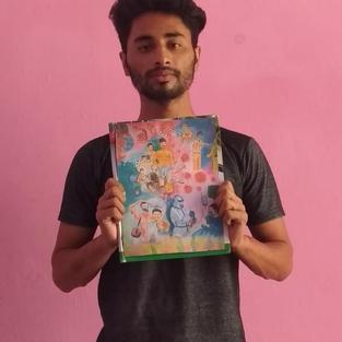 Rakesh Kumar 2nd Winner