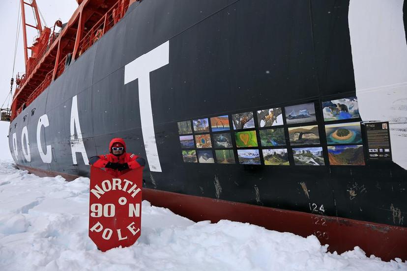 Exhibition on North Pole 2017