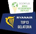 RYANAIR Top 13 Gelteria Koun