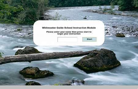 Image link to Whitewater Rafting prototype