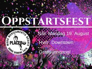 Oppstartsfest!