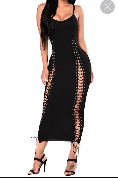 Lace Me Up Dress