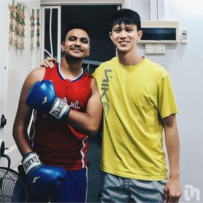Meet Yushen & Yaash, a tutor-tutee pair who bond over Muay Thai!