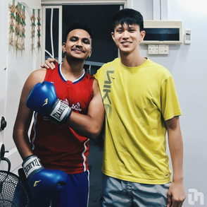 Meet Yushen & Yaash, a tutor-tutee pair who bond over Muay Thai!