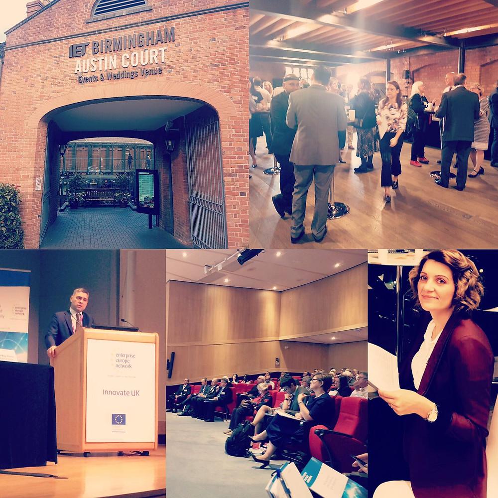Birmingham ECSIF SME Instrument & Innov FIN Seminar