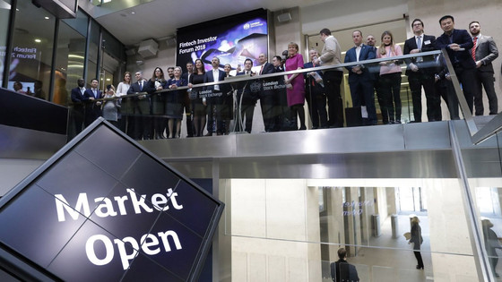 ECSIF invited to the Market Open Ceremony @ London Stock Exchange
