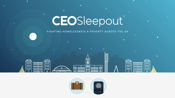 2ndChance CEO participated at CEO Sleepout London