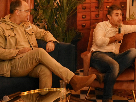 An evening with Giacinto Oriolo, Elite Growth, LSEG & Bogdan Manoiu, Co-founder InnovX