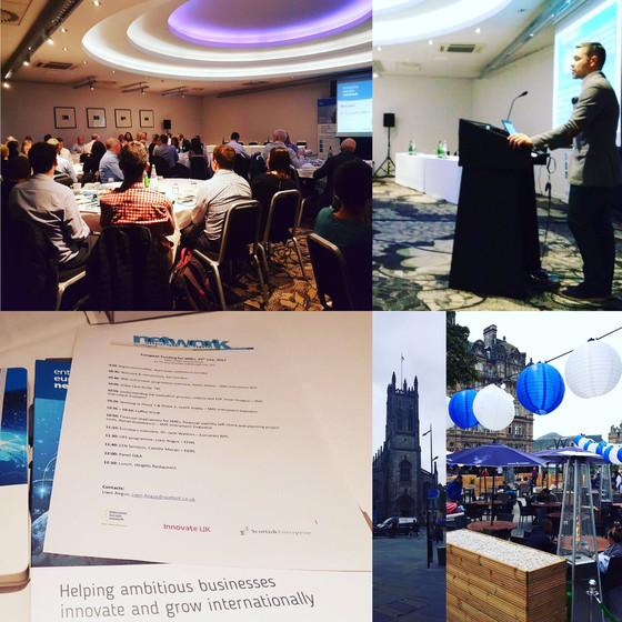 SME Instrument & Innov FIN Seminar @ Edinburgh