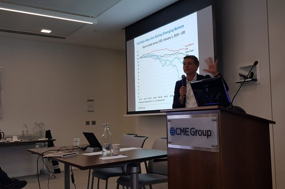 Dr. Daniel Dumitrescu participated @ CME Group to the presentation of the FinecoBank platform