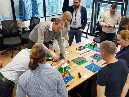 Bootcamp InnovX Business Accelerator BCR Today < Lego Serious Play @Scalling together>