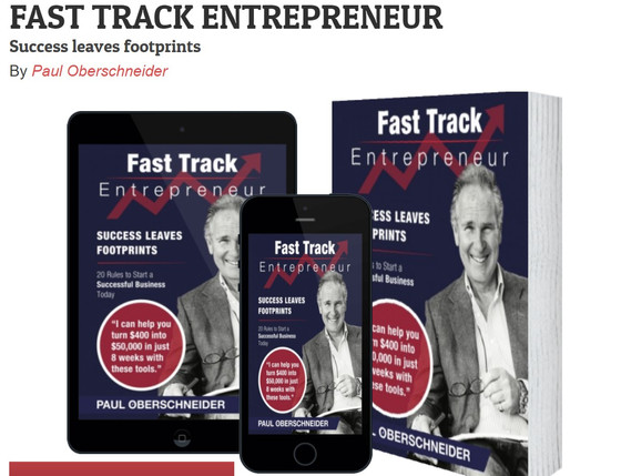 ECSIF co-founders interview in Fast Track Entrepreneur - the new book of Paul Oberschneider