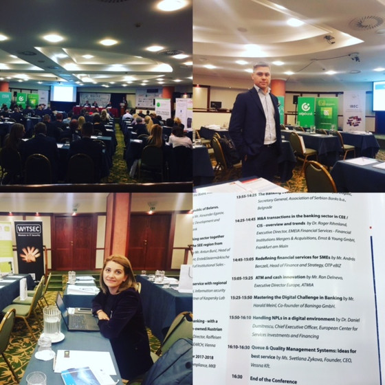 """""""2ndChance"""" Fin Tech sollution is presented at the 35th BACEE Regional Banking Conference"""