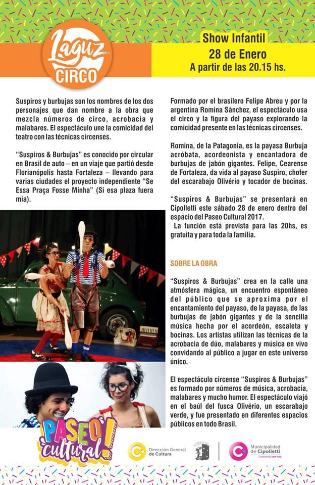 Verano Passeo Cultural 2017