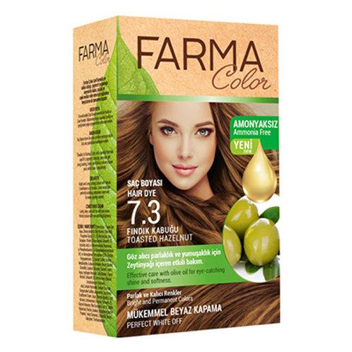FARMACOLOR SAÇ BOYASI 7.3 FINDIK KABUĞU