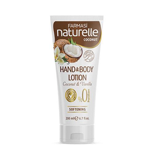 FARMASI NATURELLE COCONUT HAND & BODY LOTION 200 ML