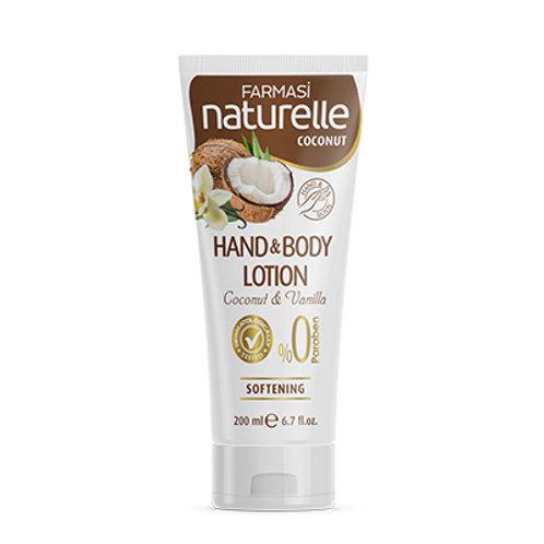 FARMASI NATURELLE COCONUT HAND & BODY LOTION 200 ML