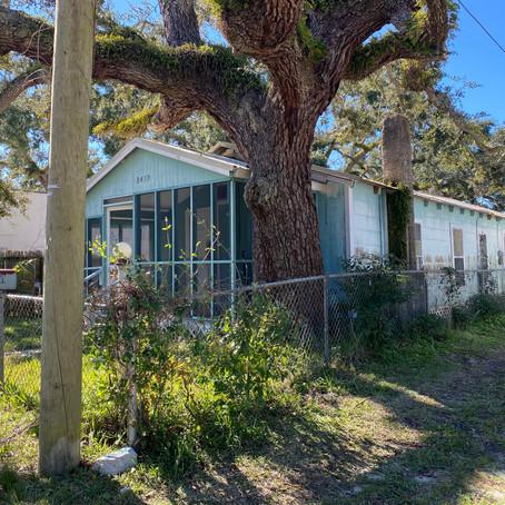 Home Demolition in Port St. Joe, Florida Oak Grove Community