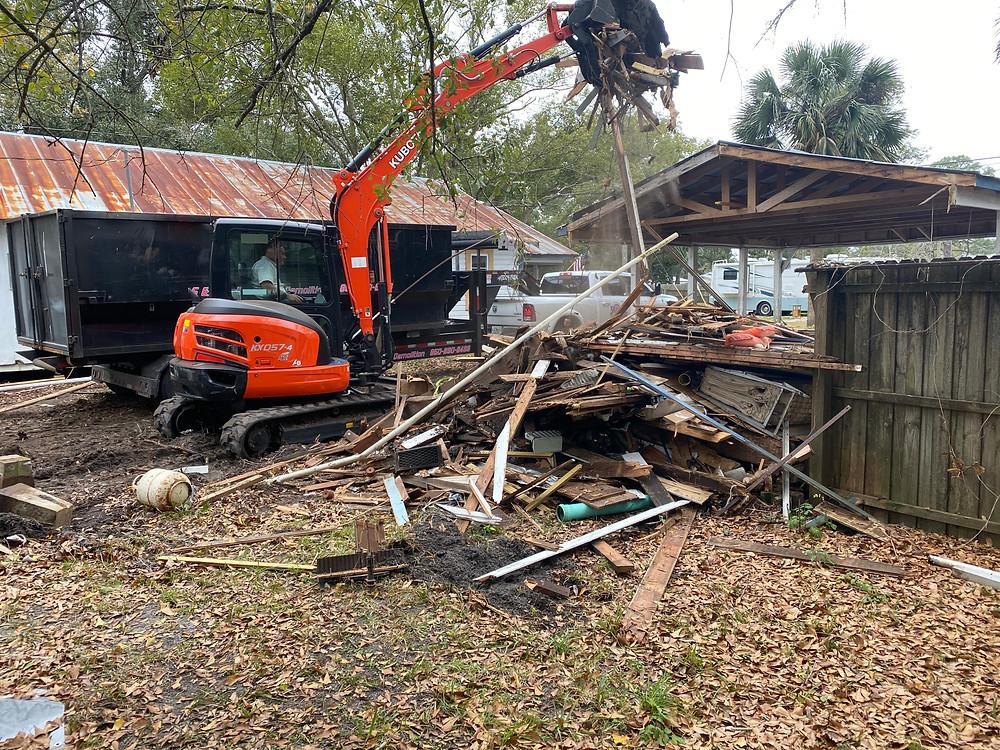 Building During Demolition