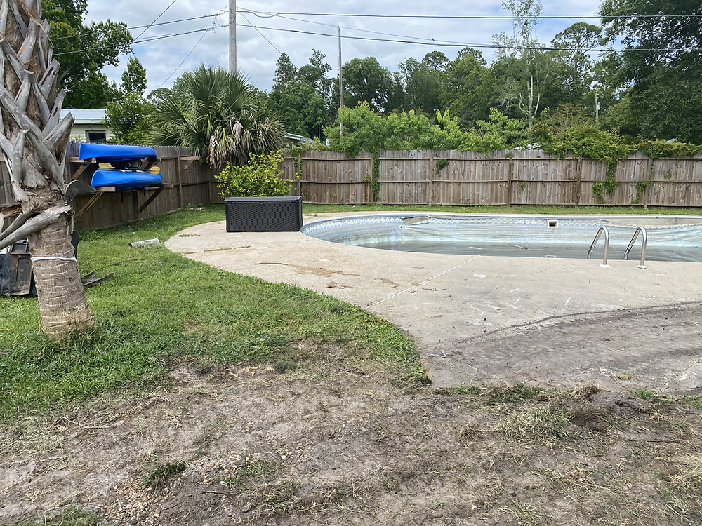 Swimming Pool Demolition Port St. Joe