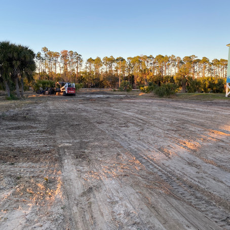 Clearing Land for New Construction Port St. Joe, Fl