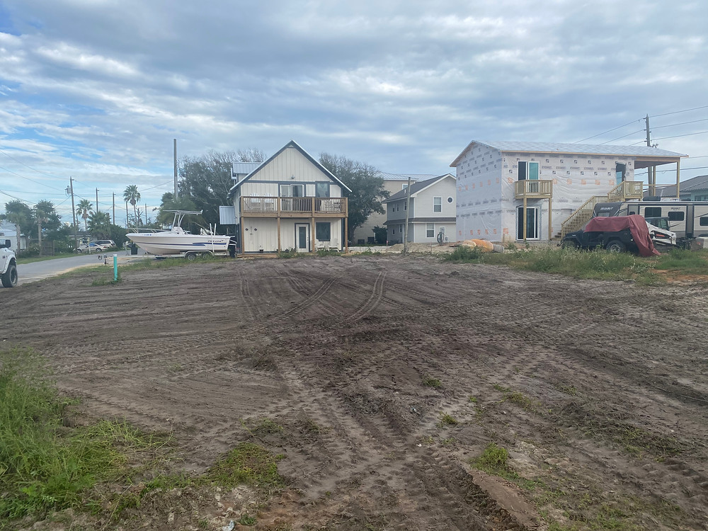 S & J Roll Off and Tractor Services - Cleared Lot Mexico Beach