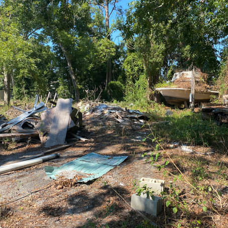 S & J Roll Off and Tractor Services Debris Cleanup Port St Joe, Fl