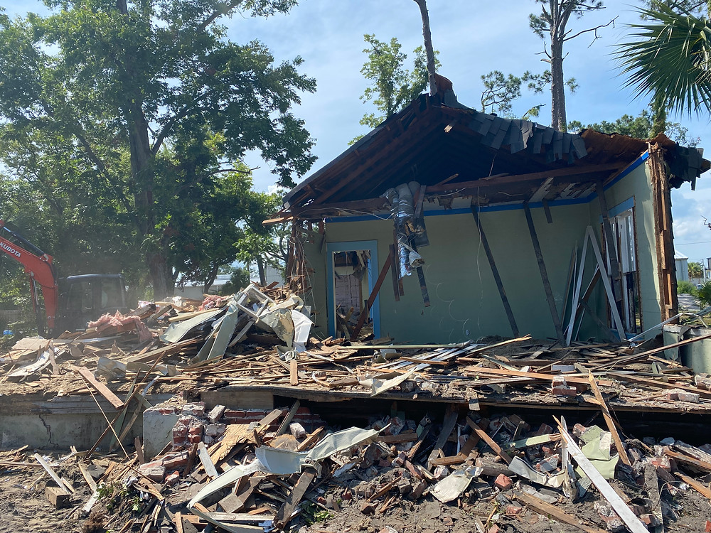 house demolition port st joe florida