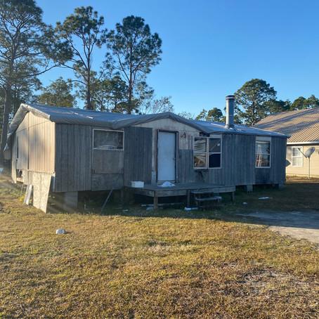 Mobile Home Demolition Port St. Joe, Florida