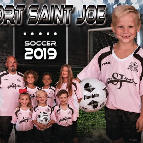 S & J Roll Off Sponsors U8 Youth Soccer