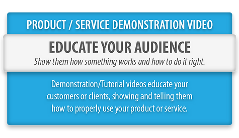 Product Service Demonstration Videos