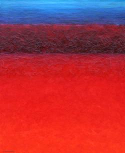 Effet texturé sur la forêt rouge...