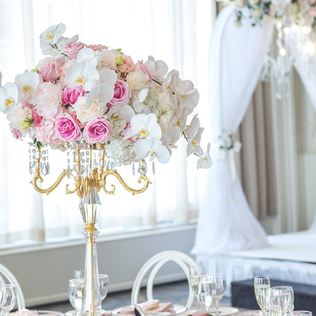 #16 Tall Fresh Floral Centrepieces For Wedding Reception Tables In The GTA