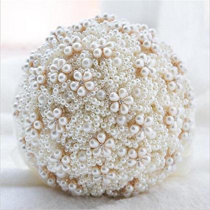 Pearl Wedding Bouquet (5-Colors)