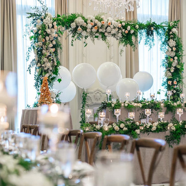 #1 Wedding Head Table Flowers Decor And Accessories GTA
