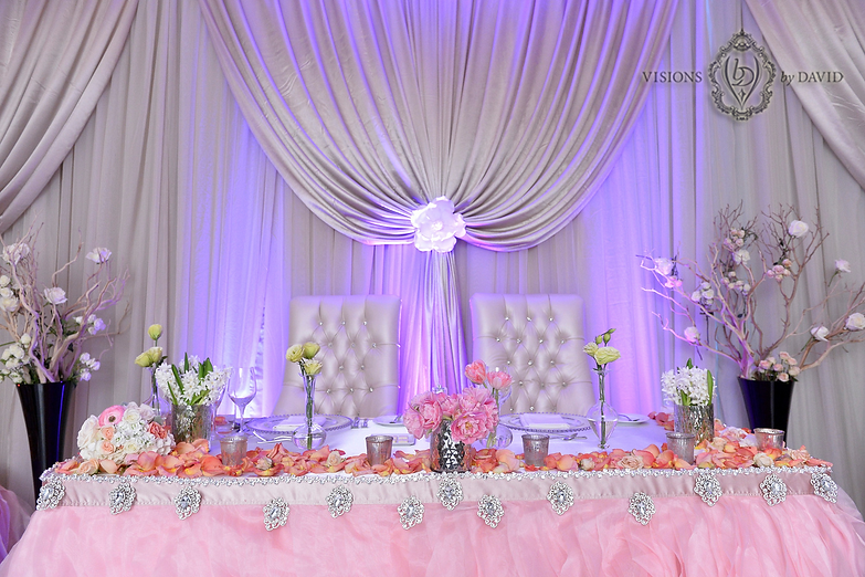 Head Table Wedding Decor Toronto