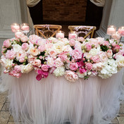 #12 Wedding Head Table Flowers Decor And Accessories GTA