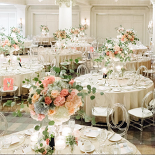 #24 Tall Fresh Floral Centrepieces For Wedding Reception Tables In Toronto