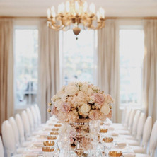 #18 Tall Fresh Floral Centrepieces For Your Wedding Reception Tables In Toronto