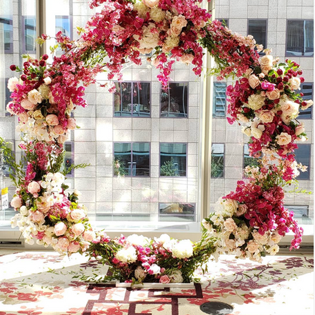 #26 Floral Arch For Wedding Ceremony And Reception Toronto